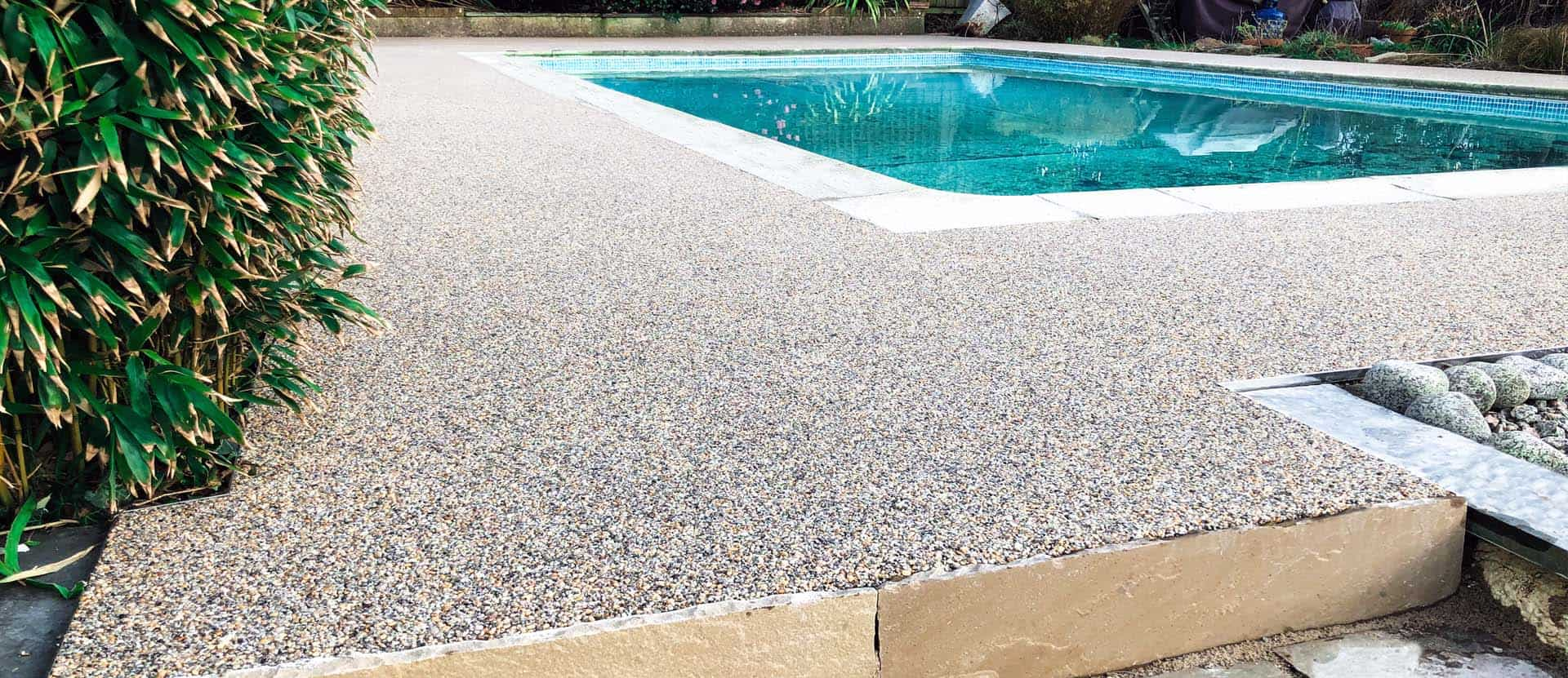 Resin Bound Swimming Pool Surround & Ramp - Praa Sands ...