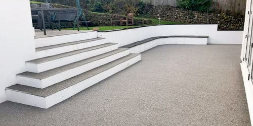 Basepro resin bound steps cornwall & devon