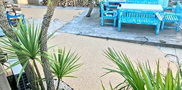 non slip resin bound patio cornwall devon