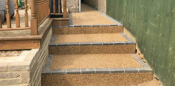 refresh you steps with resin bound in cornwall & devon