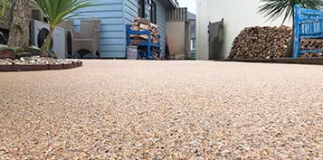 resin bound patio no loose stones